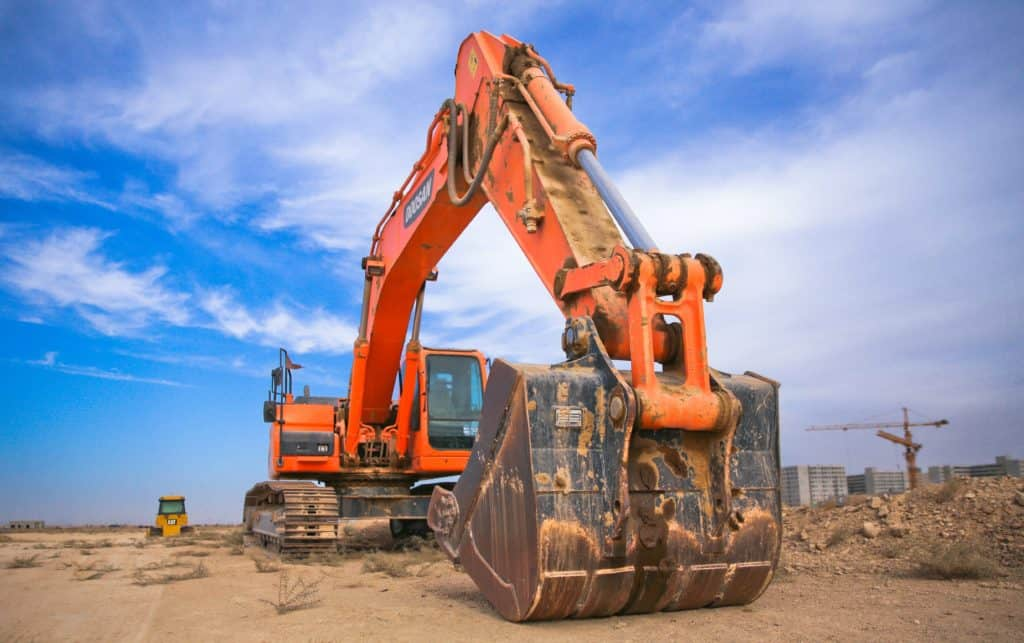 An earth moving digger is an example of a non-current asset.